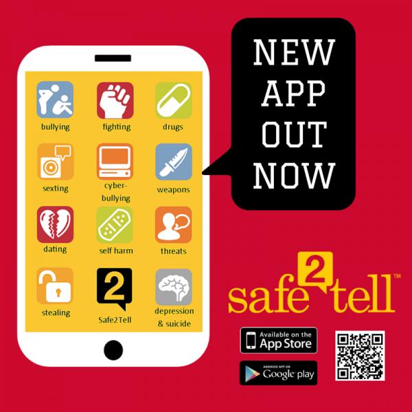 Safe2Tell - https://safe2tell.org/