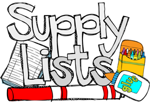 2019-2020 Supply Lists Featured Photo