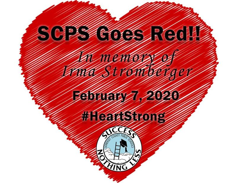SCPS Goes Red on February 7 for Heart Health Awareness Featured Photo