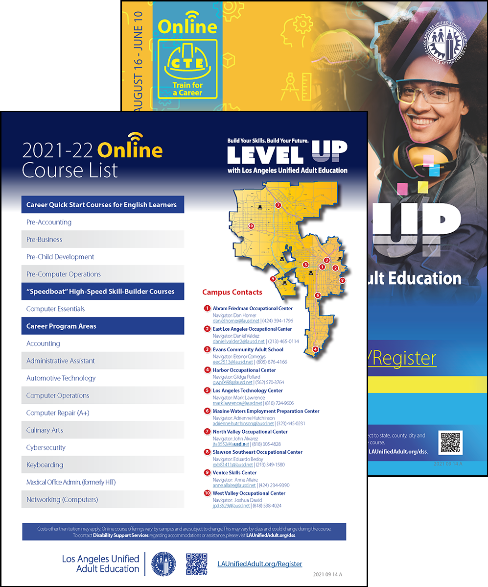 Career Technical Education Flyer - Online - Cover 03