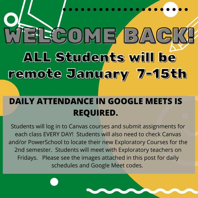 Semester 2 Schedules Featured Photo