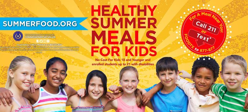 Free Healthy Summer Meals! Featured Photo