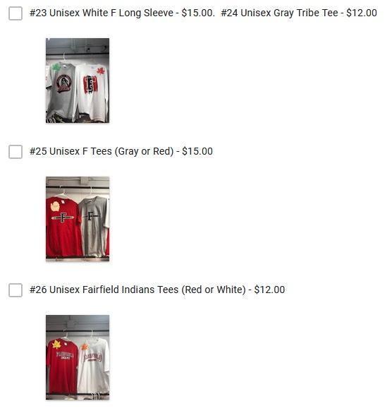 FFS Spirit Store items