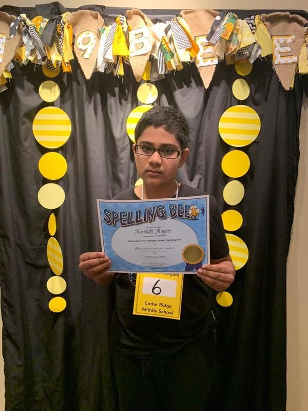 Harshith spelling bee