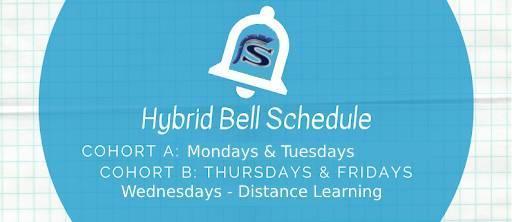 Hybrid Bell Schedule logo