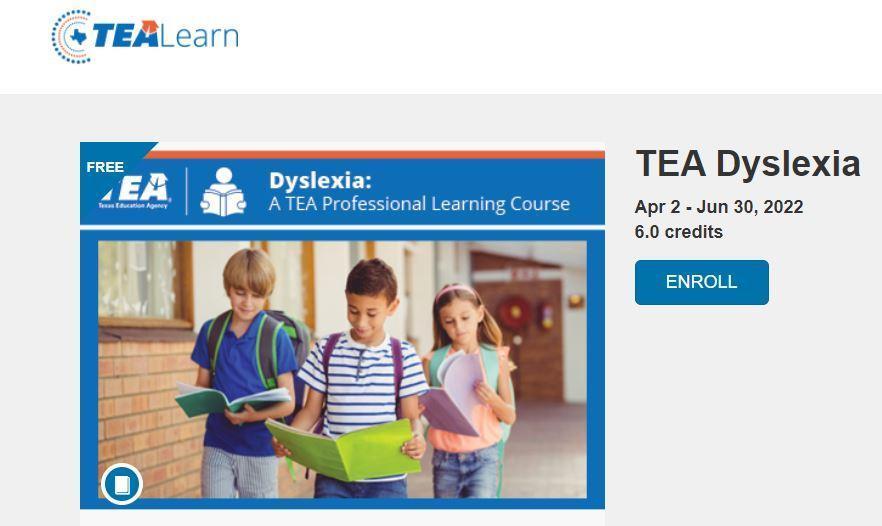 TEA Dyslexia