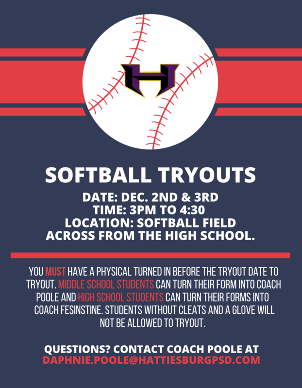 Softball Tryouts Featured Photo
