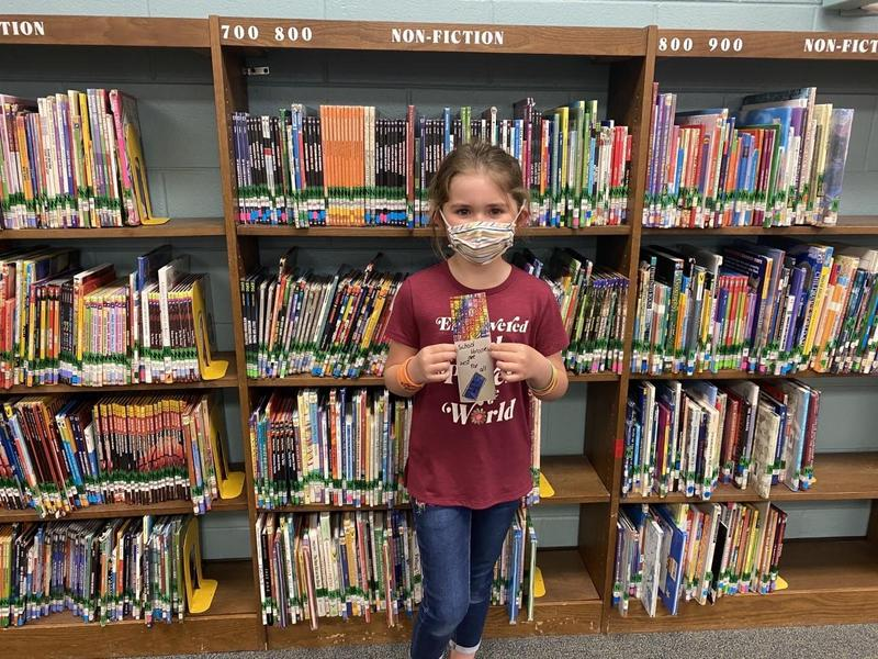 Christiana Elementary student wins honorable mention for original bookmark design Thumbnail Image