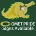 Comet Pride Signs