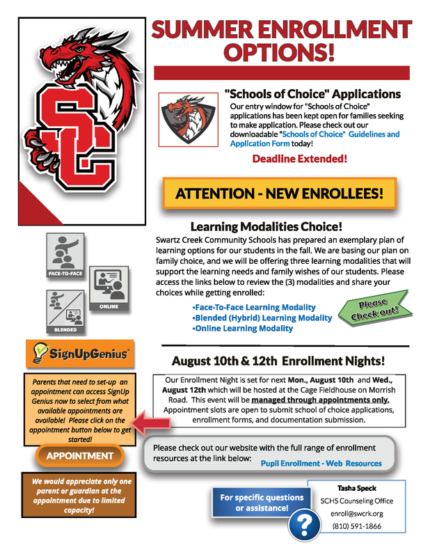 Summer Enrollment Options Featured Photo