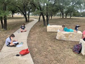 HLES outdoor classroom