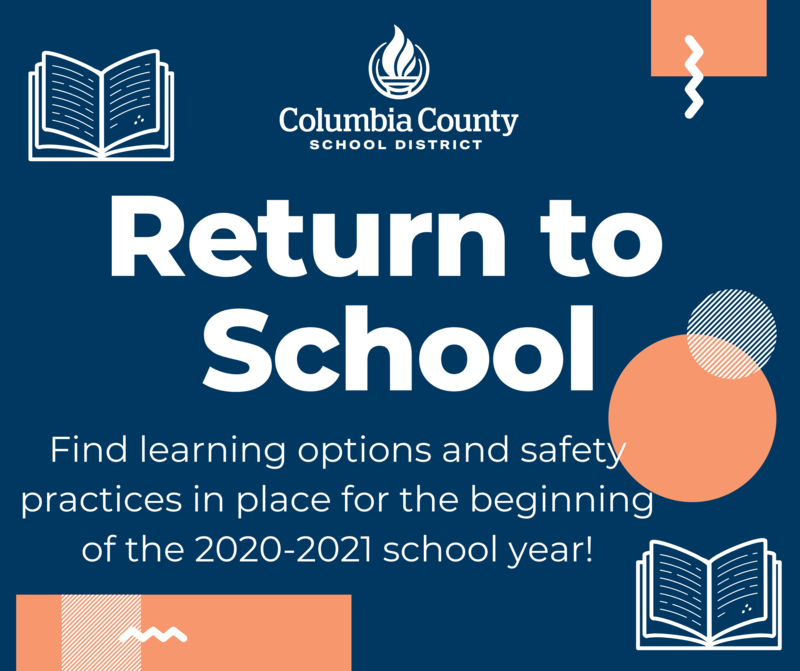 Return to school graphic