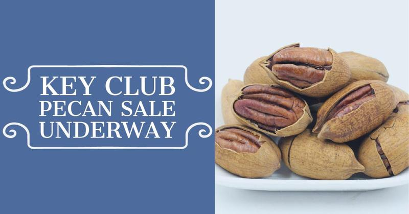 Key Club Pecan Sale