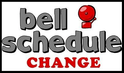 NEW Bell Schedule for 2021-2022 school year! Thumbnail Image