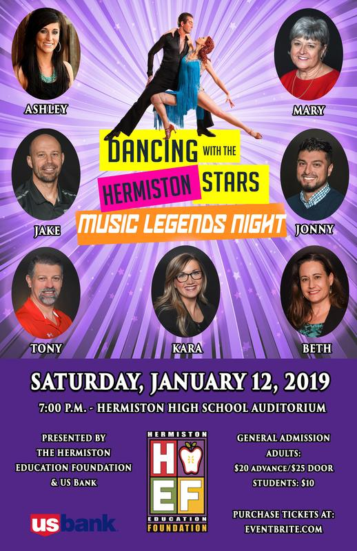 HEF to host 2019 Dancing with Your Hermiston Stars Featured Photo