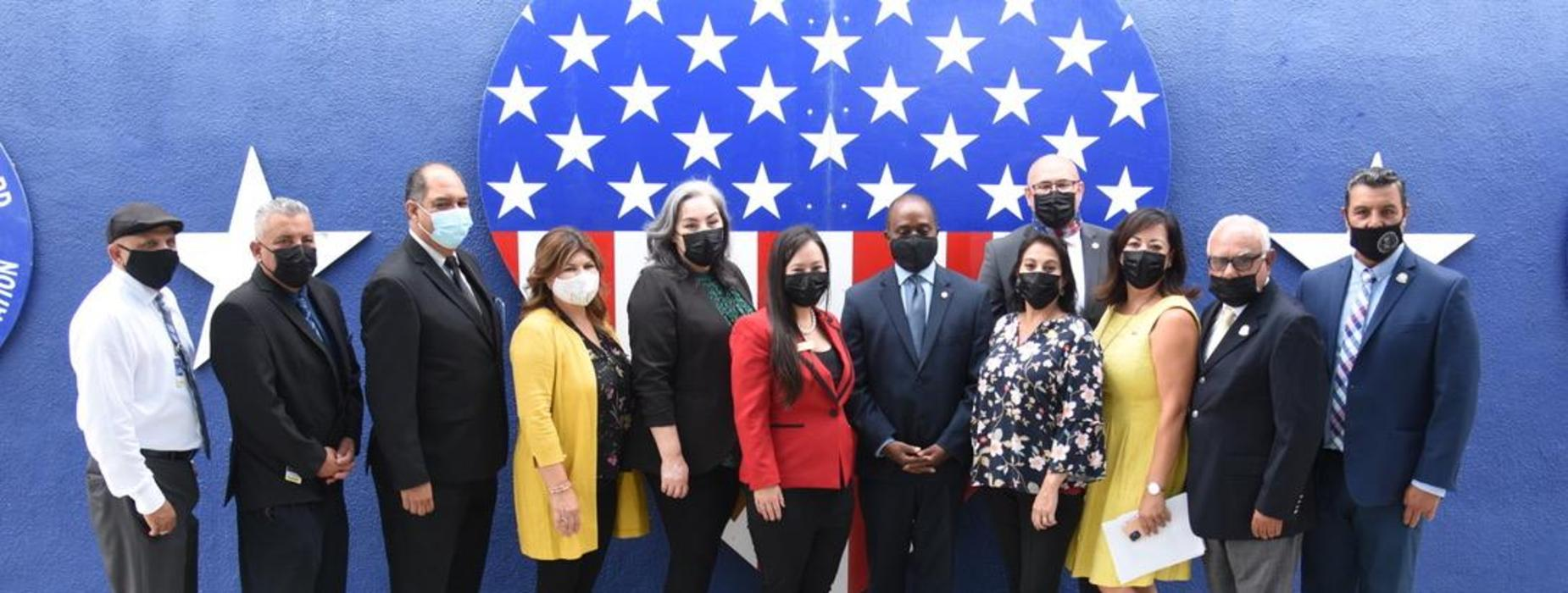 VLSD and City of SEM with State Superintendent Tony Thurmond