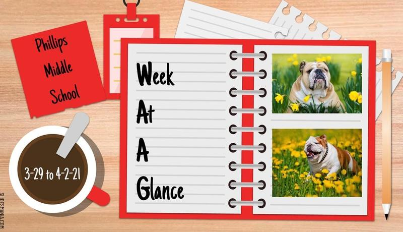 Bulldog Week At A Glance 3.28 to 4.2 Featured Photo