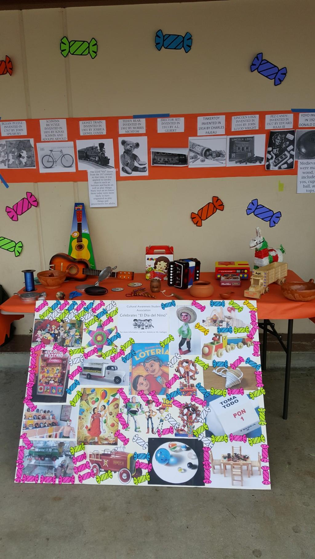 Casa Club's booth on Dia De Nino