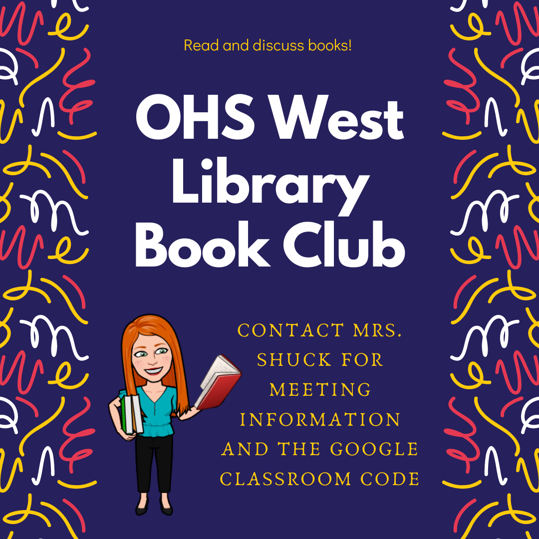 OHS Library Book Club Image