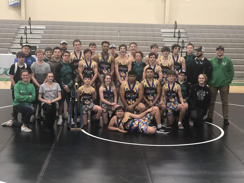 UCA Wrestling  wins the 1A NCHSAA Dual Team State Championship Featured Photo