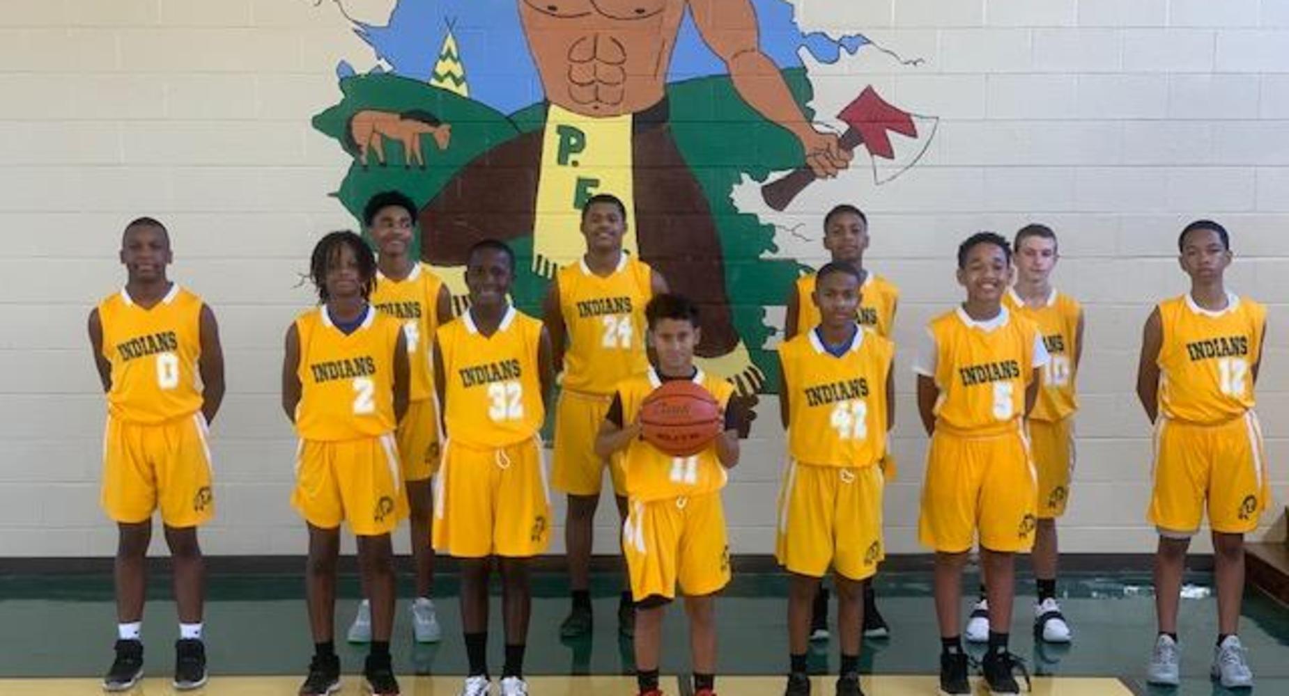 Plaisance School Boys Basketball Team