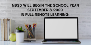 NBSD Virtual Learning Starting September