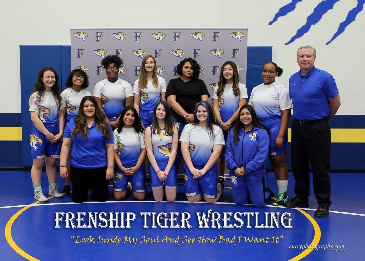 2019-20 Girls Wrestling Team