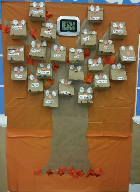 Owl Tree at Gerard Elementary