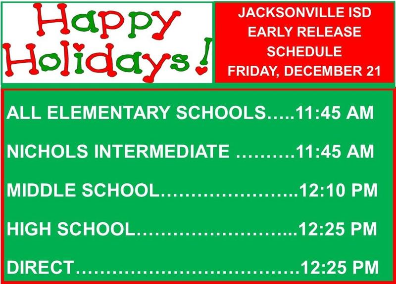 early release times for december 21
