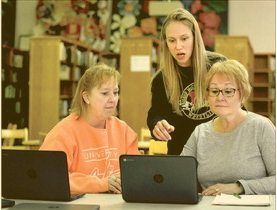 McCort Teachers Taking Lessons Online Thumbnail Image