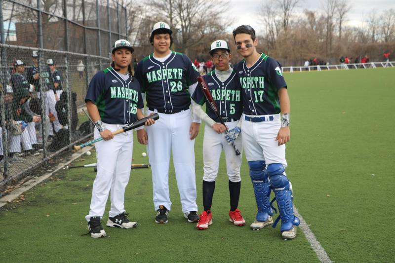 Maspeth High School Boys Varsity Baseball Team Season Opener March 20 @ Whitey Ford Field Featured Photo