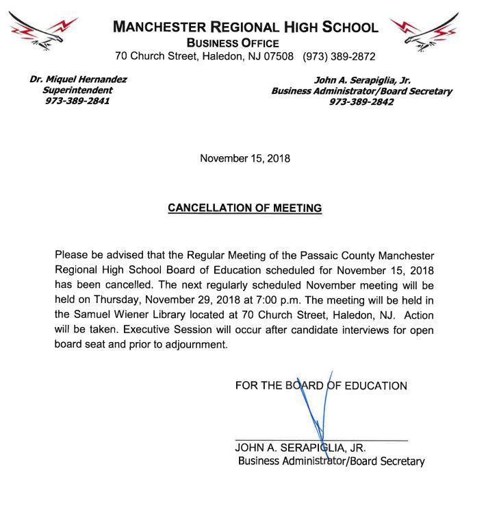 Manchester Regional High School