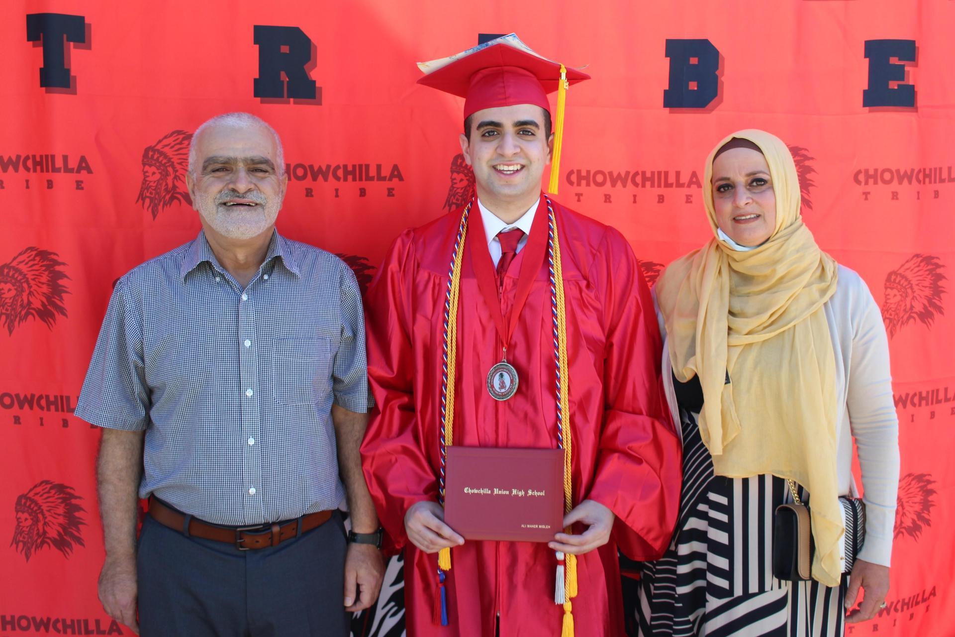 Ali Misleh and family