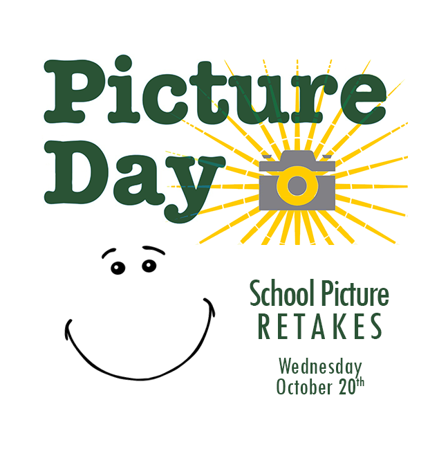 PICTURE DAY-RETAKES! Featured Photo