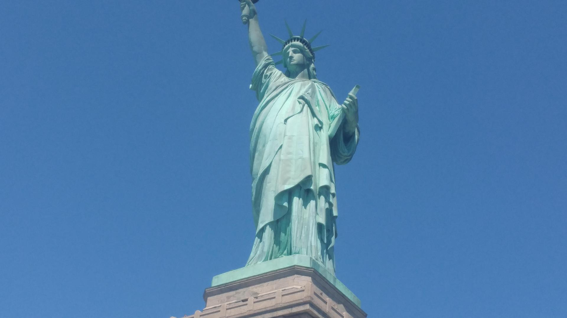 Our Family Trip to the Statue of Liberty