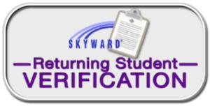 Skyward Returning Student Online Verification