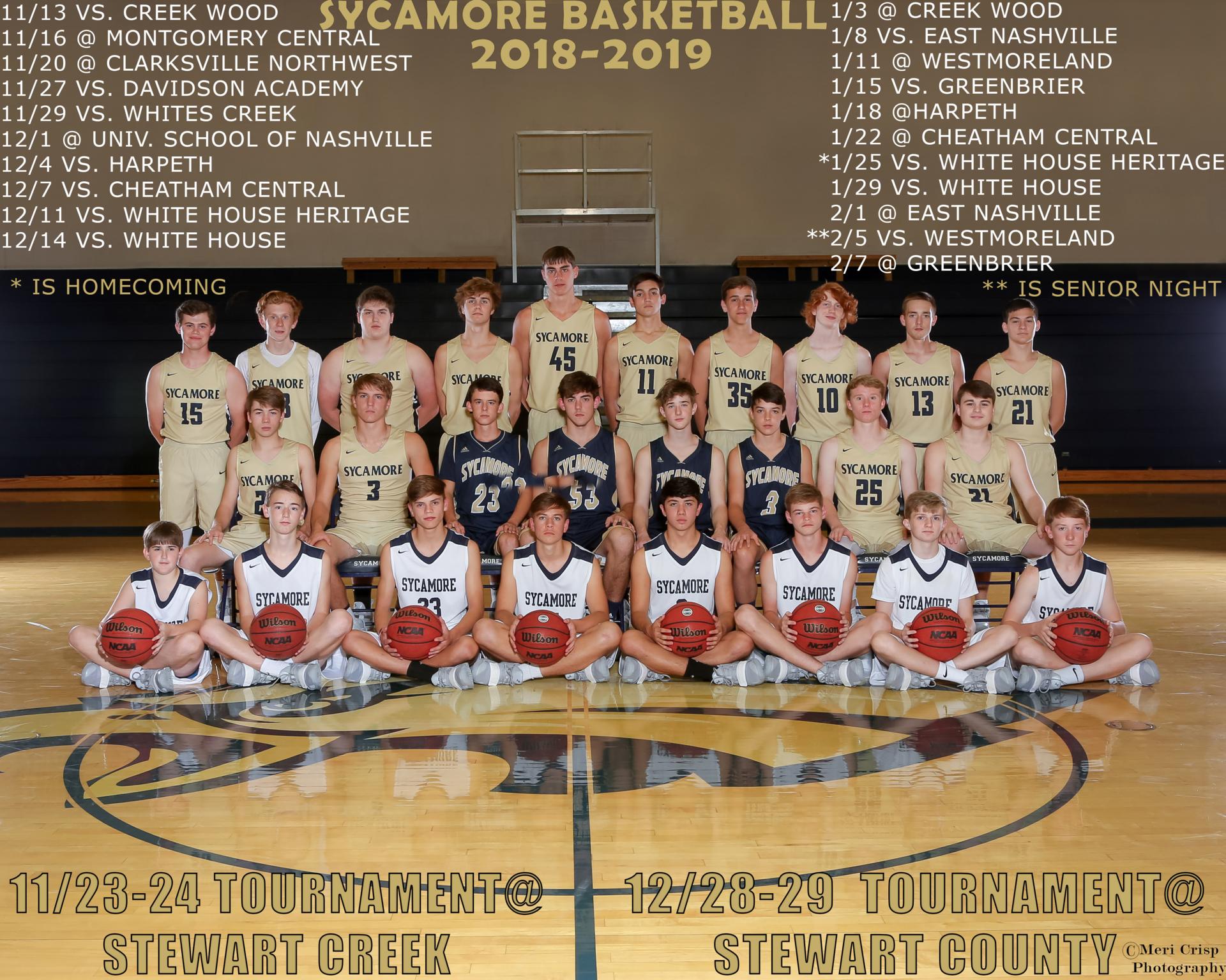 War Eagle Basketball 2018/19