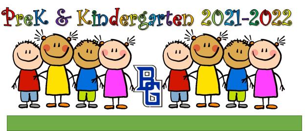 Pre-K & Kindergarten Registration Thumbnail Image