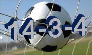 Soccer record 14-3-4