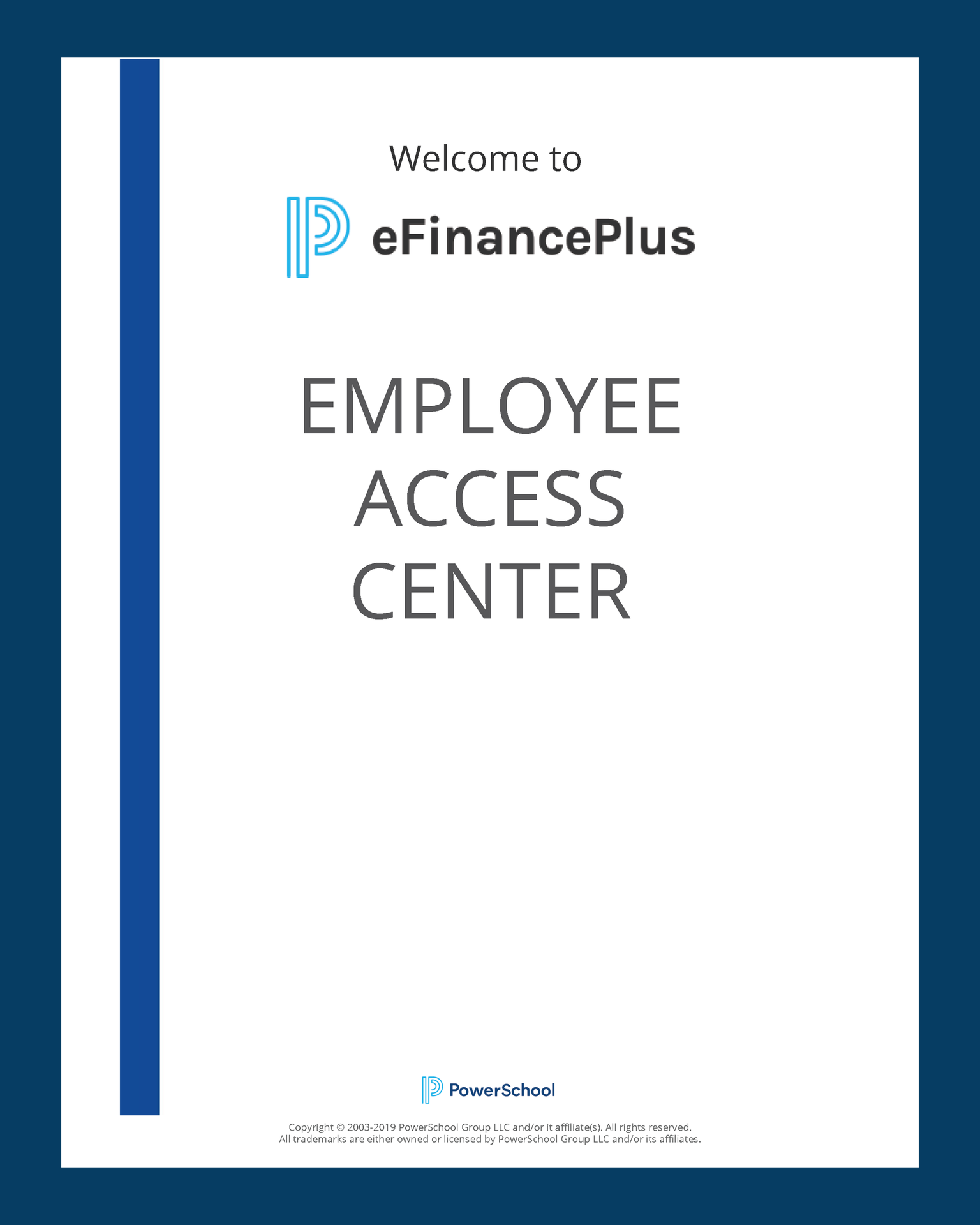 Employee Access Center