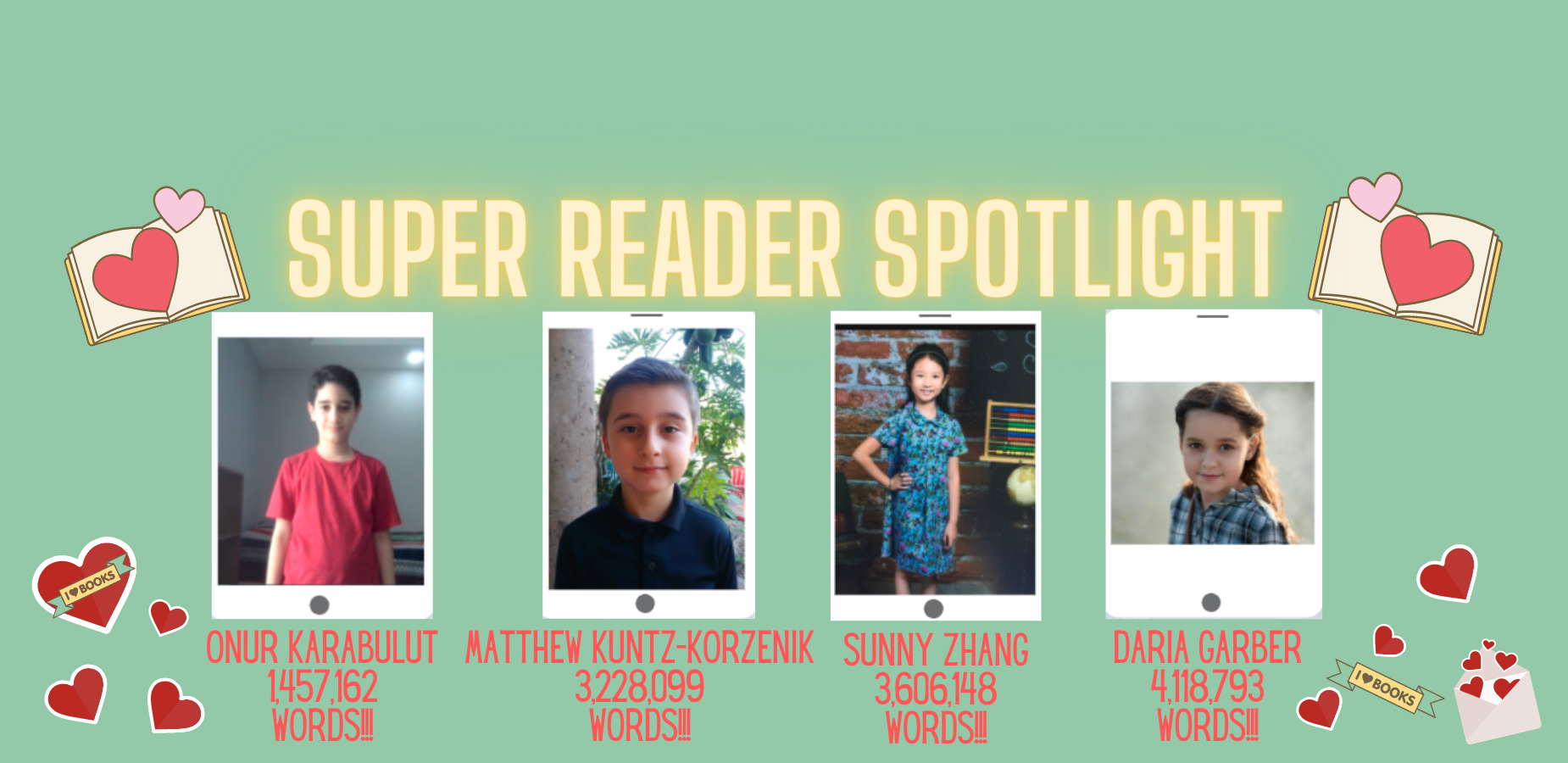 Super Reader Spotlight