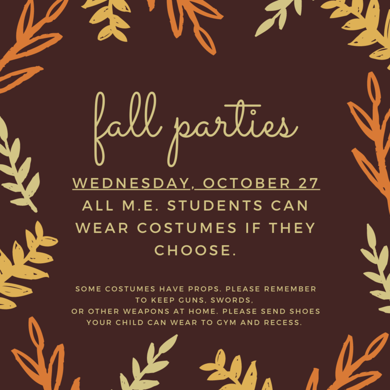fall parties
