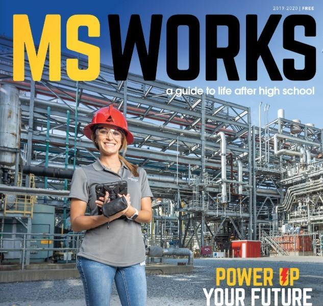 MS Works magazine cover