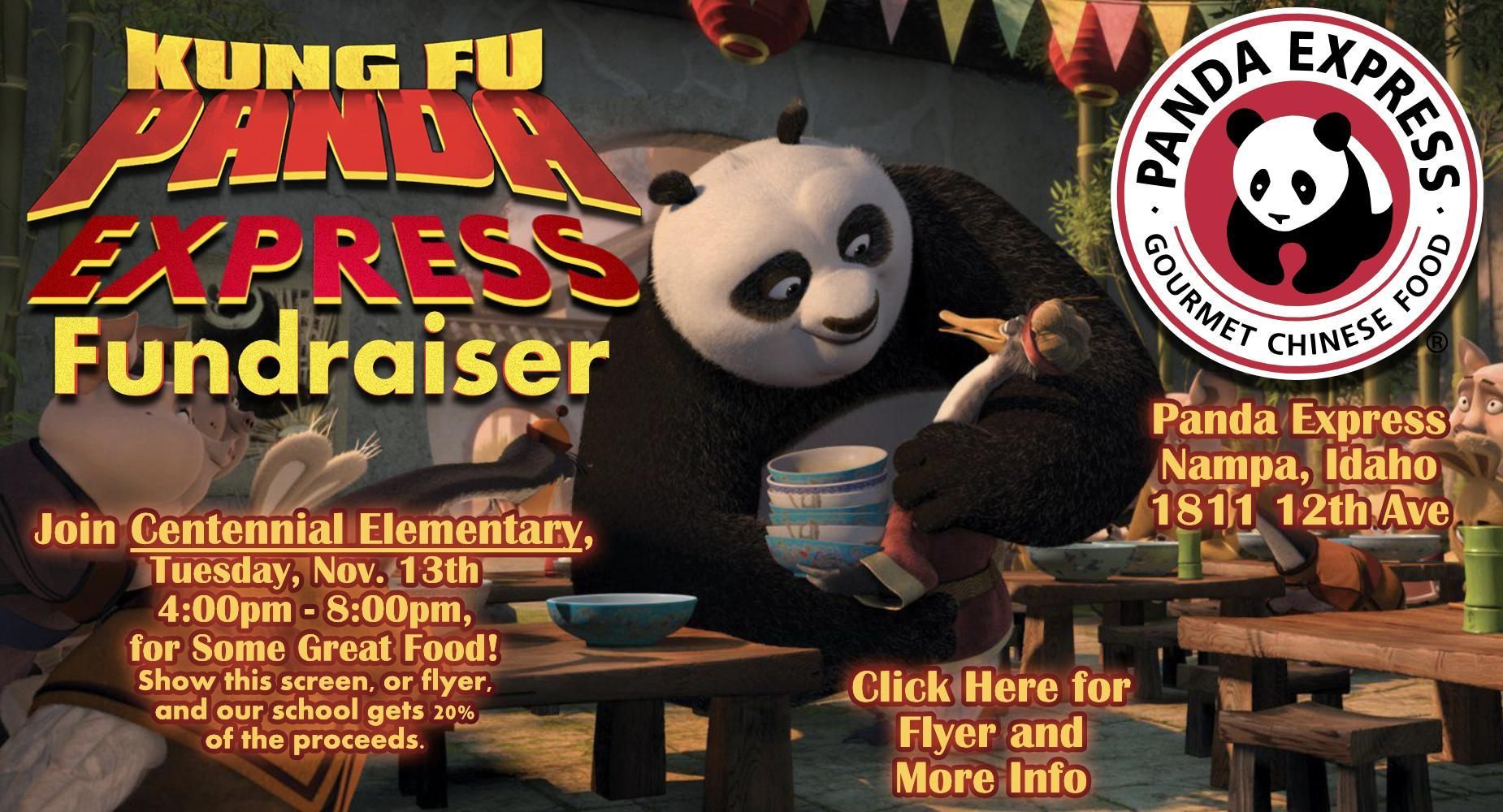 Panda Express Fundraiser - Nov. 13th