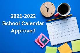 Union School District  Calendar for 2021-22 Featured Photo
