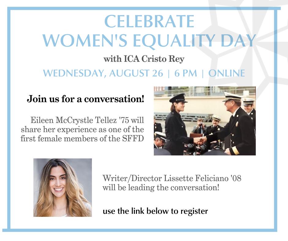 invite to women's equlaity day event
