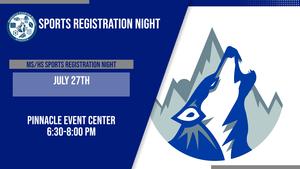 MS/HS Athletics Registration