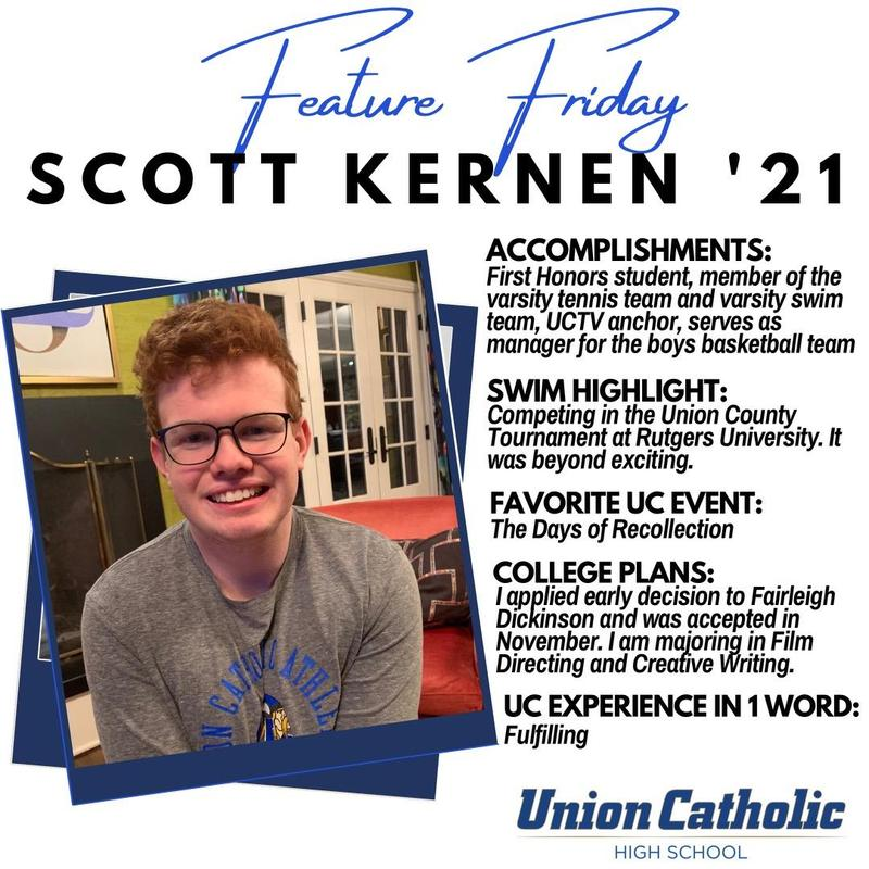 Scott Kernen Has Made His Presence Felt At Union Catholic Thumbnail Image