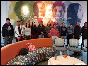 boynton high school students at west valley college