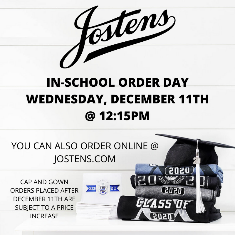 Jostens In School Order Day- December 11th Featured Photo